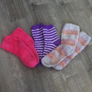3 Pairs of Fuzzy Socks for $5